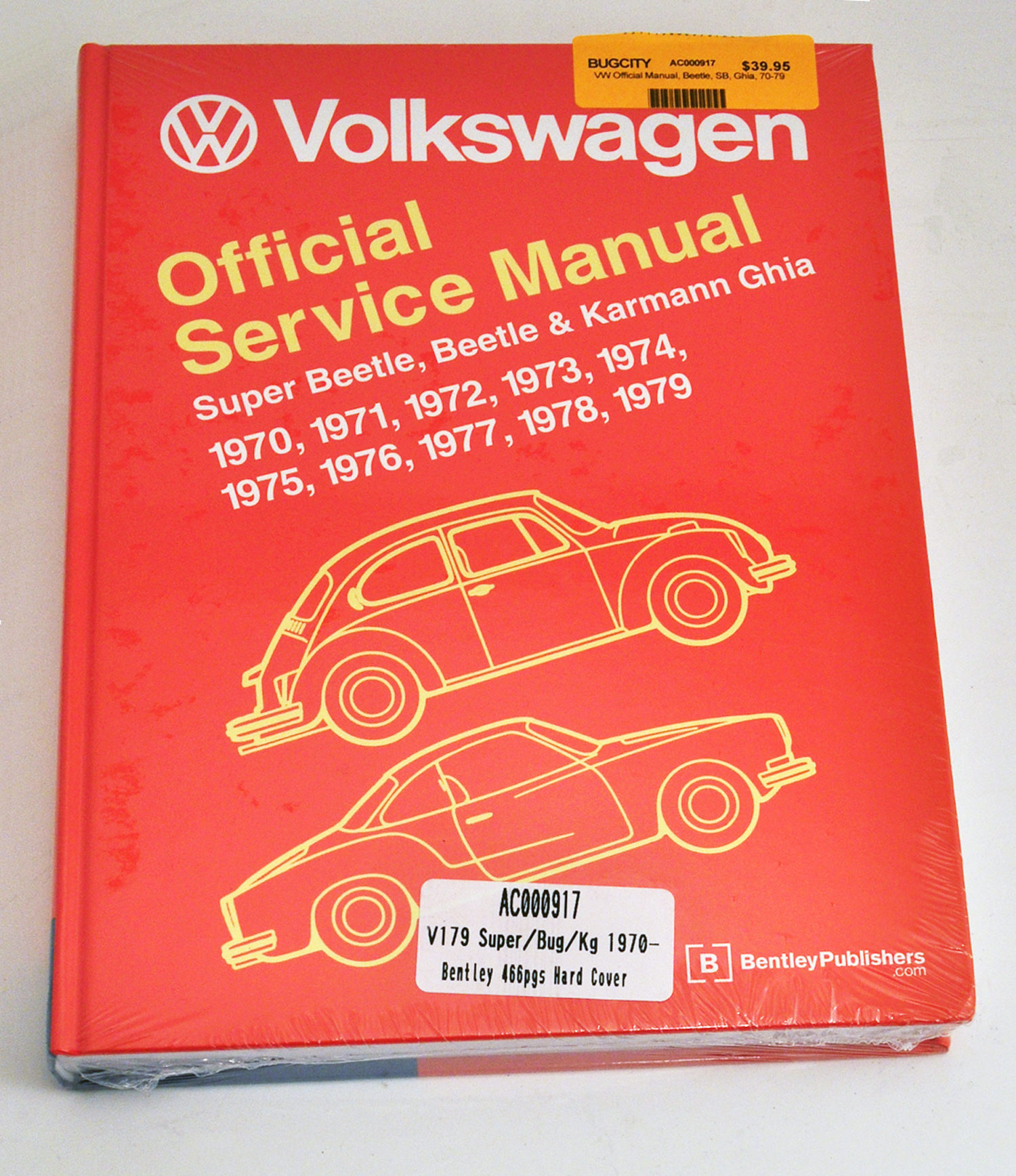 Bugcity Offers New And Used Air Cooled Parts For Your Vw Volkswagen 1971 Super Beetle Auto Shift Wire Diagram Repair Guide Official Manual Sb Ghia 70 79